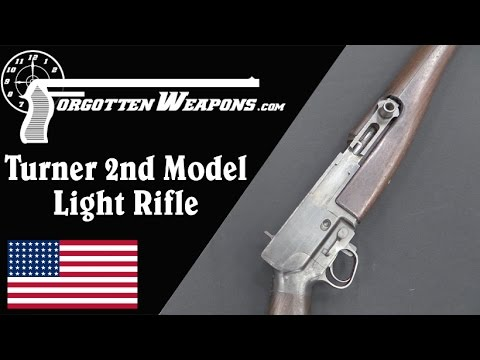Turner Light Rifle Prototype (2nd Model)