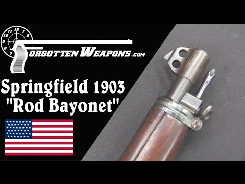 Rod Bayonet Springfield 1903 (w/ Royalties and Heat Treat)