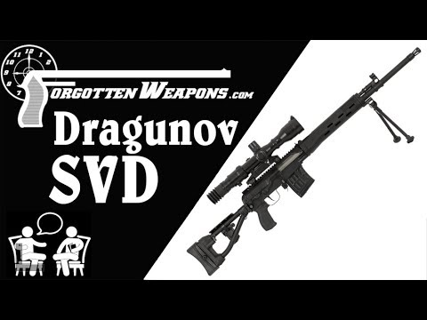History of the SVD Dragunov with Max Popenker