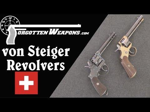 Swiss Prototype von Steiger Auto-Ejecting Revolvers