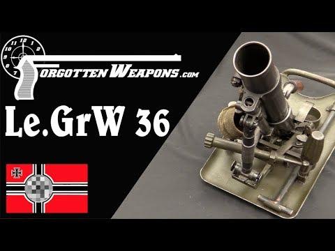 Germany's Not-So-Light 5cm Le GrW 36 Light Mortar