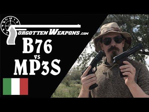 Benelli B76 vs MP3S at the Range