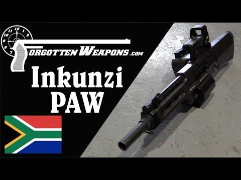 Inkunzi PAW aka Neopup – 20mm Direct-Fire Grenade Launcher