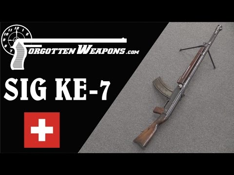 SIG KE-7 Light Machine Gun – More Complex Than Most