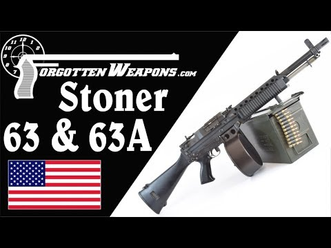 Stoner 63, 63A, & Mk23: History and Mechanics