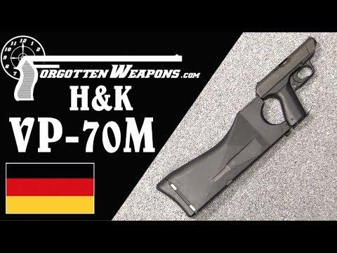 H&K VP-70M: Polymer Framed Cutting Edge Machine Pistol from 1973
