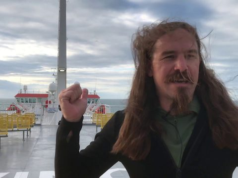 Ian sails the North Sea in search of better shirts than C&Rsenal