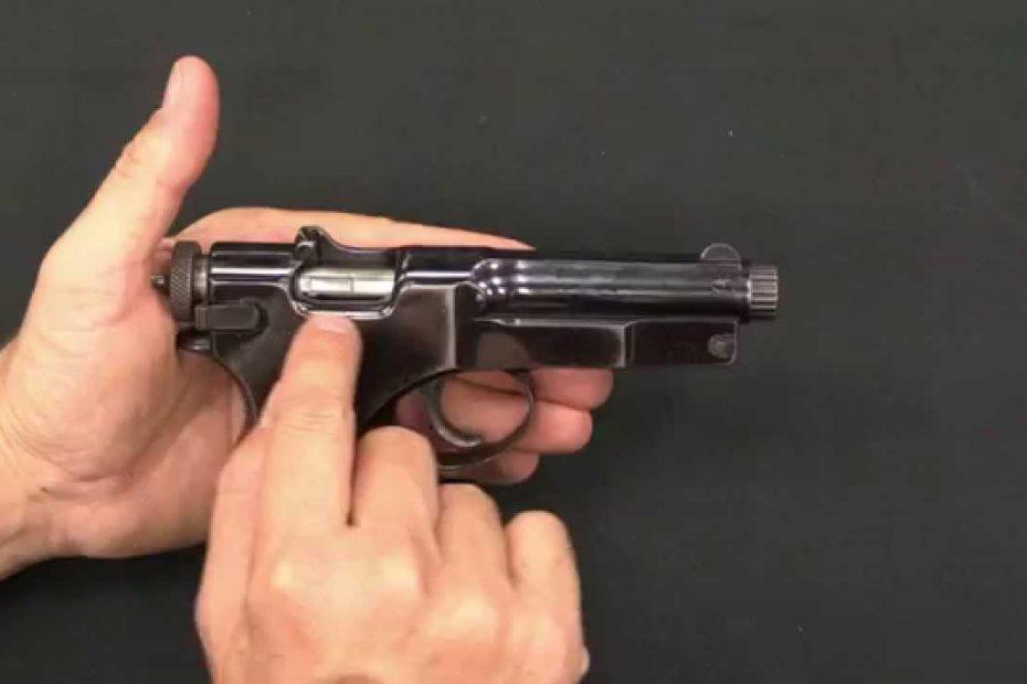 Roth-Sauer Automatic Pistol