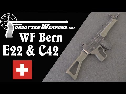 WF Bern C42 & E22: Stgw90 Trials Rifles to Compete With SIG