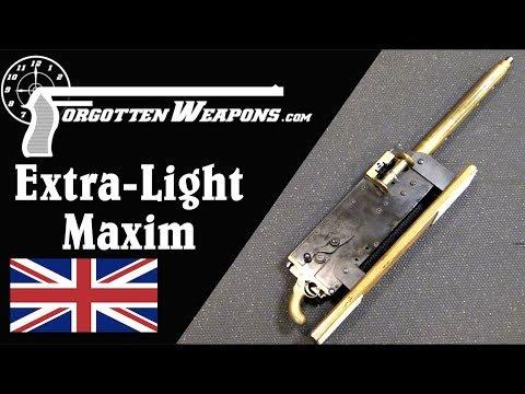 Hiram's Extra Light Maxim Gun