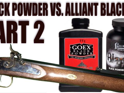 Black Powder vs. Alliant Black MZ Part 2: Chronograph Testing