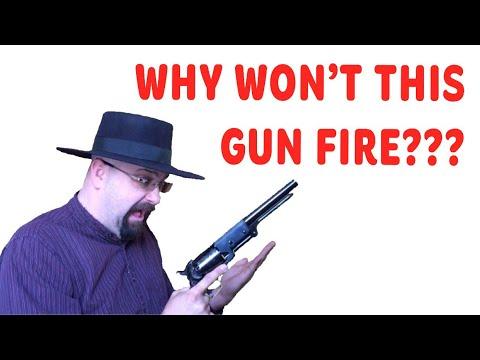 Why Does My Cap & Ball Revolver Keep Misfiring?