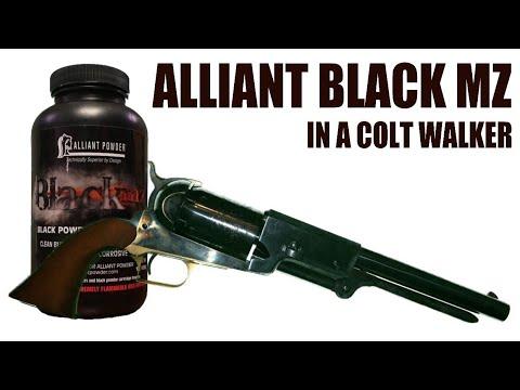 Alliant Black MZ in a Colt Walker