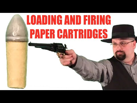 Paper Cartridges: Loading and Firing
