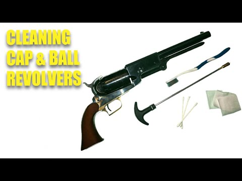 How To Clean A Cap-And-Ball Revolver