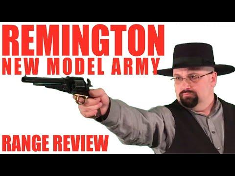 Remington New Model Army: Range Review