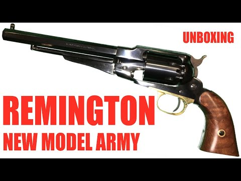 Remington New Model Army: Unboxing And Overview