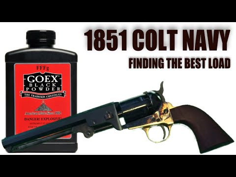 1851 Colt Navy: Finding The Best Load