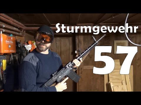 SIG Sturmgewehr 57: overview, shooting and mechanics