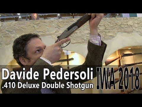 Pedersoli  410 double shotgun IWA 2018 Part 3