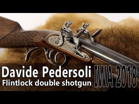 Pedersoli flintlock double shotgun – IWA 2018 part 1