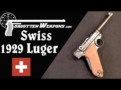 Swiss 1929 Simplified Luger (Yes, Swiss and Simplified)