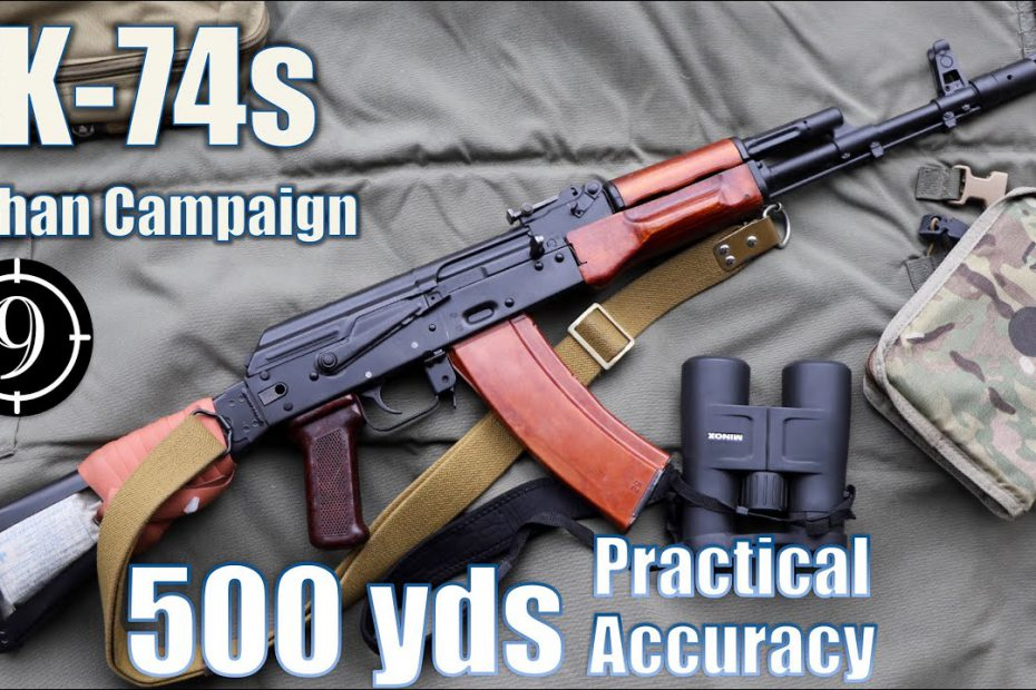 AK74s Iron Sights to 500yds: Practical Accuracy (Milsurp)