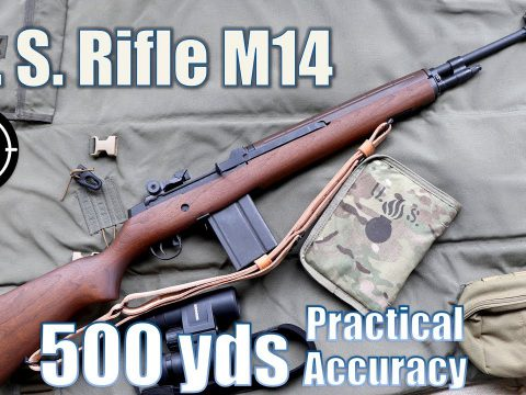 US Rifle M14 to 500yds: Practical Accuracy (Springfield Armory M1a NM) (Milsurp)