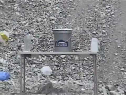 .30-06 vs. Five Gallons Of Water