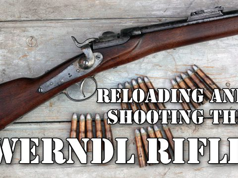 Shooting and reloading – the 1867 Werndl rifle in action