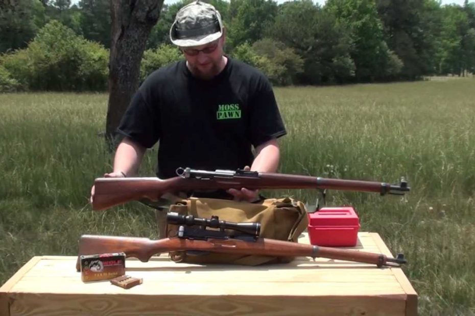K-31 Bolt Action Swiss Army Rifle in 7.5x55mm