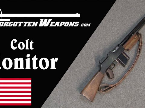 Colt Monitor: The First Official FBI Fighting Rifle