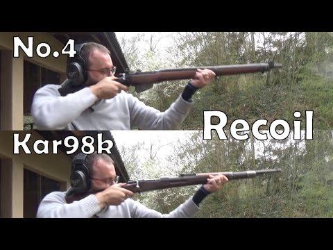 Lee-Enfield No.4 vs. Mauser Kar98k: recoil