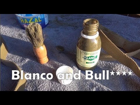 What's the deal with blanco and blancoing webbing? Eh?