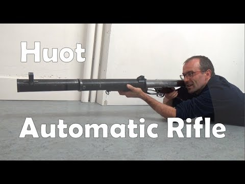 Huot: Canada's Ross-based Prototype Automatic Rifle from WW1