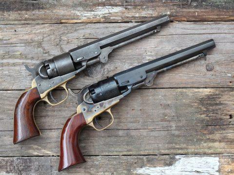 Shooting the 1862 Colt Pocket Navy – original vs repro