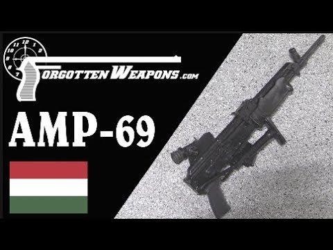 AMP 69: Hungary's Grenade-Launching AK