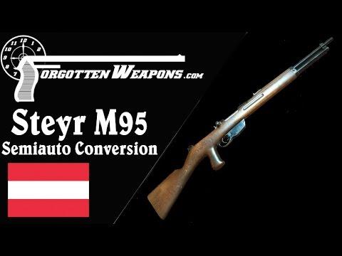 Steyr M95 Straight-Pull Semiauto Conversion