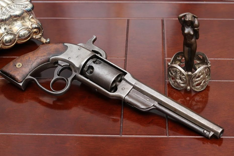Shooting the Civil War Savage Navy percussion revolver