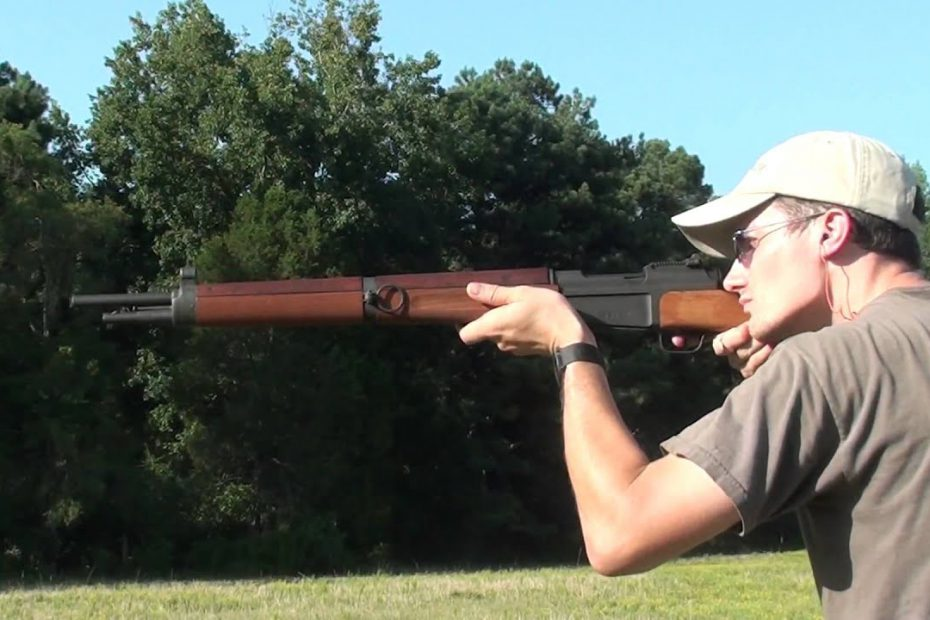 French MAS 36 7.5x54mm WW2 rifle