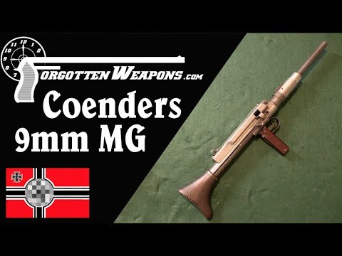 August Coenders' 9x19mm Belt-Fed MG
