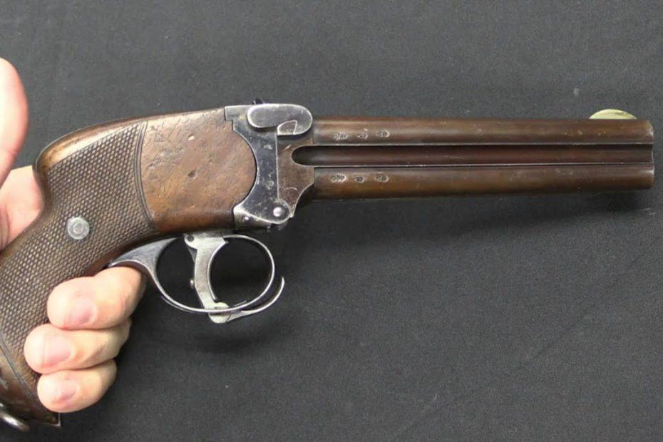 Lancaster Howdah Pistols