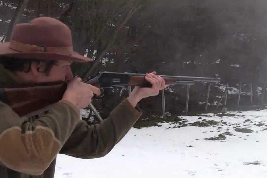 Fun with Pedersoli's 1886 Winchester in 45/70 cal