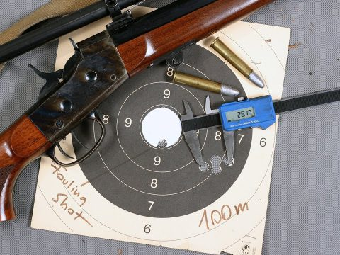 1 MOA accuracy with Pedersoli Rolling Block 45/70 rifle