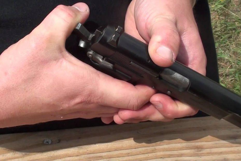"""Browning Model P35 """"Hi Power"""" Pistol 9mm"""