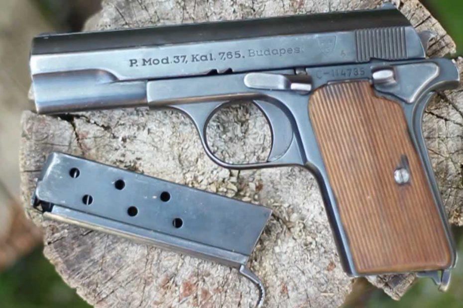 Történelmi lövészsportok 1: Frommer 37 M pisztoly lövészet és versenyek