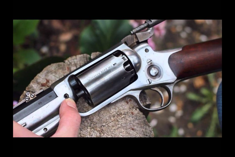 Percussion revolving carbines 1/3. – The 1855 Colt Root Sporting rifle