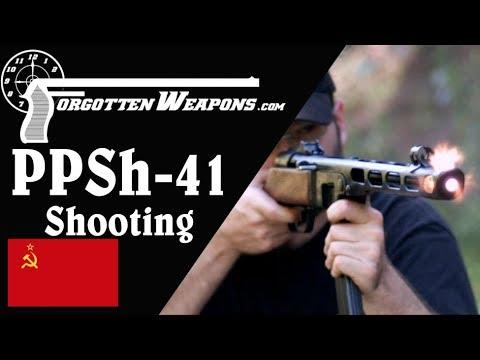 "The Iconic ""Burp Gun"" – Shooting the PPSh-41"