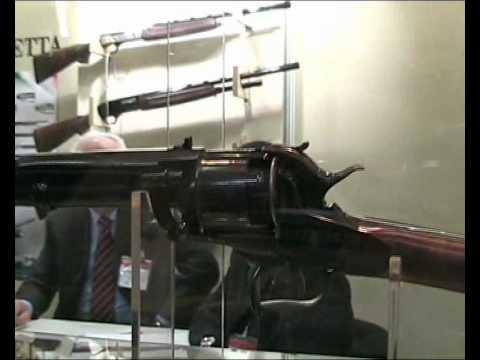 Pietta LeMat carbine at IWA 2010 Nürnberg