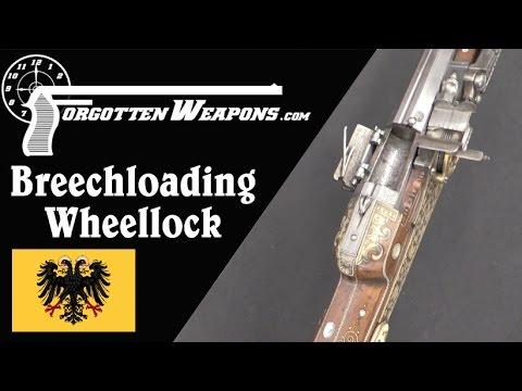 Beautiful 1625 Breechloading Wheellock